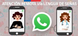 atención de salud en lengua de señas chilena